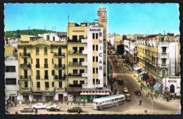 TUNIS --Av De Londres Et Av De Paris - Autobus  - CPSM  - Edit G.LEVY- Recto Verso-Paypal Sans Frais - Tunesien