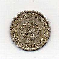 Portogallo - 1952 - Colonia Del Mozambico - 20 Escudos - Argento - (MW1585) - Portogallo
