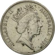 Monnaie, Australie, Elizabeth II, 5 Cents, 1989, TB, Copper-nickel, KM:80 - Monnaie Décimale (1966-...)
