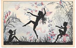 Illustrator - Riet Reinderhoff -  Fee, Pixie, Elfe, Fée, Elf, Champignon, Mushroom, Pilze, Cobweb, Flute, Dancing, Birds - Altre Illustrazioni