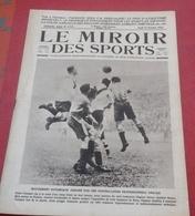 Miroir Des Sports N°173 25 Octobre 1923 Coupe Ballons Sphériques Aumont Thieville,Programme Jeux Olympiques Paris - Sport