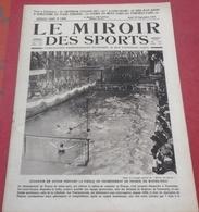 Miroir Des Sports N°168 20 Septembre 1923 Jack Dempsey,Alain Gerbault,Moto CycleCars Paris Les Pyrénées Paris - Sport