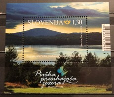 Slovenia, 2018, Pivka Seasonal Lakes Nature Park (MNH) - Slovenia