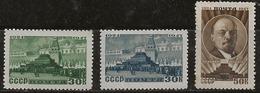 Russie 1947 N° Y&T :   1081 à 1083 ** - 1923-1991 USSR