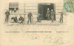 METIERS.N°25947.SAPEURS POMPIERS DE PARIS.FEU DE CAVE - Firemen