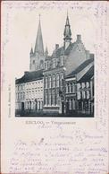 Zeer Oude Kaart 1900 Eeklo EECLOO Vredegerecht - Eeklo