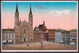 Bromberg Bydgoszcz 1917, Friedrichsplatz, Feldpostkarte Nach Forchheim Bayern - Polen