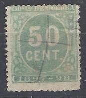 España Impuesto De Guerra U 54 (o) Cifra. 1897 - Impuestos De Guerra
