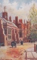 London UK, Fowler Artist Image The Hall Lincoln's Inn, Tucks 'Inns Of Court And Chancery' #1538, C1900s Vintage Postcard - Other