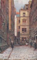 London UK Fowler Artist Image Mitre Court Serjeants Inn Tuck 'Inns Of Court And Chancery' #1538, C1900s Vintage Postcard - Other