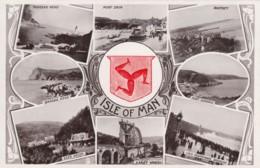 UK Isle Of Man, Various Scenes, Port Erin, Port Soderic, Loch Promenade, Bradda, Tucks #5169 C1900s Vintage Postcard - Isle Of Man
