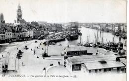 Dunkerque (Nord) Les Quais + Place Trystram      LES 2 CARTES - Dunkerque