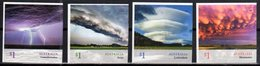 AUSTRALIA, 2018, MNH,CLOUDSCAPES, 4v S/A Ex. BOOKLETS - Climate & Meteorology