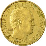 Monnaie, Monaco, Rainier III, 10 Centimes, 1978, TB+, Aluminum-Bronze, KM:142 - Monaco