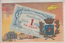 CHAMBRE De COMMERCE De MONTPELLIER  1 FRANC - Montpellier