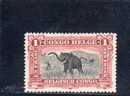 CONGO BELGE 1910 * - Belgian Congo
