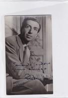 RODOLFO NATAL CIRCA 1947 AUTOGRAPH ORIGINAL SIZE 12x7cm- BLEUP - Autographes
