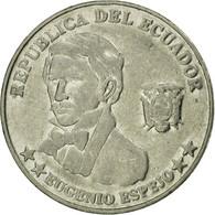 Monnaie, Équateur, 10 Centavos, Diez, 2000, TB+, Steel, KM:106 - Equateur