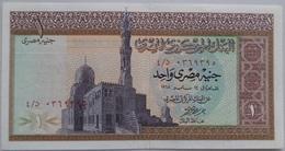 1 Pound Egypt - 14 May 1968 - SIG/ ِAhmed Nazmi (Egypte) (Egitto) (Ägypten) (Egipto) (Egypten)  Africa - Aegypten