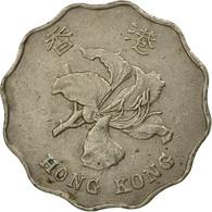 Monnaie, Hong Kong, Elizabeth II, 2 Dollars, 1993, TB+, Copper-nickel, KM:64 - Hong Kong