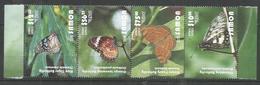 SAMOA - MNH - Animals - Insects - Butterflies 2015 - Butterflies