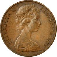 Monnaie, Australie, Elizabeth II, Cent, 1972, TTB, Bronze, KM:62 - Monnaie Décimale (1966-...)