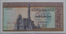 1 Pound Egypt - 19 September 1973 - SIG/ ِAhmed Zendo (Egypte) (Egitto) (Ägypten) (Egipto) (Egypten)  Africa - Aegypten