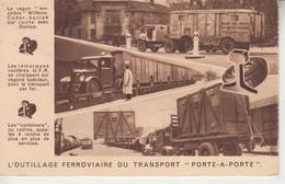 """L'Outillage Ferroviaire Du Transport """" Porte A Porte """"  PRIX FIXE - Schienenverkehr"""