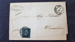 2 Lettres Allemandes, 1 Prusse 1853, 1 Allemagne 1931 - Machine Stamps (ATM)
