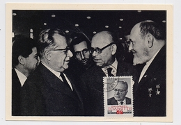 CARTE MAXIMUM CM Card USSR RUSSIA Palmiro Togliatti Italy Partisan General Kovpak 2nd WW - 1923-1991 URSS