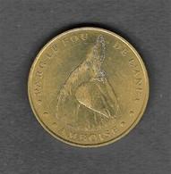 """Jeton Monnaie De Parie """" Parc Le Fou De L'Ane """" Amboise Indre Et Loire  (37) - Monnaie De Paris"""
