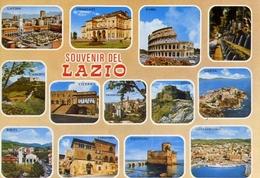 Souvenir Del Lazio - Latina - Frascati - Roma - Gaeta - Rieti Civitevecchia - Formato Grande Non Viaggiata – E 8 - Zonder Classificatie