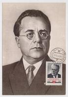 CARTE MAXIMUM CM Card USSR RUSSIA Palmiro Togliatti Italy - 1923-1991 URSS