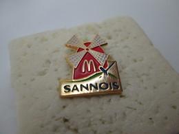 PIN'S    SANNOIS  Mc DONALD's - McDonald's