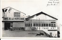 CPA-1955-ALGERIE-FORT De L EAU Pres D Alger-PLAGE CAFE De La VERTE RIVE-T BE-TRES RARE - Algerien
