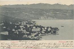 Croatia Opatija 1901 / Abbazia / Totalansicht / Panorama / Alfred Dietrich - Croacia