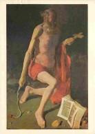 Art - Peinture Religieuse - Georges De La Tour - Saint Jérome - Voir Scans Recto-Verso - Pittura & Quadri