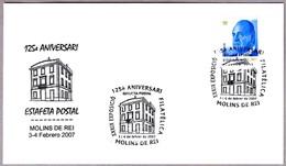 125 Años ESTAFETA POSTAL - 125 Years Postal Office. Molins De Rei 2007 - Correo Postal