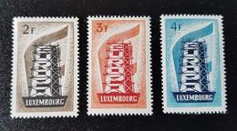Luxembourg Europa 1956 YT N° 514/516 Neufs - Ongebruikt