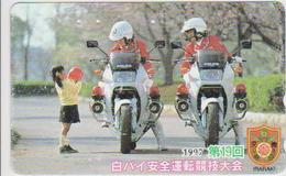 POLICE - JAPAN-004 - MOTORBIKE - Japan