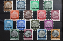 Deutsche Besetzung 2.WK Luxemburg 1-16 ** Postfrisch #RX125 - Occupation 1938-45