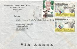 Uruguay 1968 Montevideo Albert Schweitzer Agriculture Cover - Uruguay