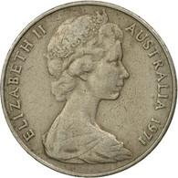 Monnaie, Australie, Elizabeth II, 20 Cents, 1971, TTB, Copper-nickel, KM:66 - Monnaie Décimale (1966-...)