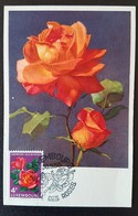 Luxembourg-Ville Des Roses 1956 - Maximumkaarten