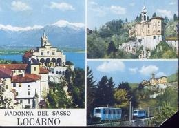 Locarno - Madonna Del Sasso - Formato Grande Viaggiata Mancante Di Affrancatura – E 8 - Cartoline