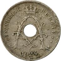 Monnaie, Belgique, 10 Centimes, 1924, B+, Copper-nickel, KM:86 - 1909-1934: Albert I