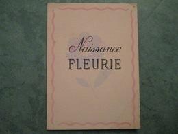 Naissance FLEURIE De Maurice Bernard - Naissance & Baptême