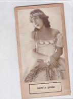 MARYLA GREMO, BALLET. CIRCA 1930 AUTOGRAPH ORIGINAL SIZE 16x8cm- BLEUP - Autogramme & Autographen