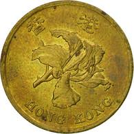 Monnaie, Hong Kong, Elizabeth II, 50 Cents, 1997, TB, Brass Plated Steel, KM:68 - Hong Kong
