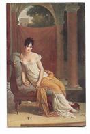 F.  Gérard  ( Baron )     -   Portrait  De  Mme  Récamier - Pittura & Quadri